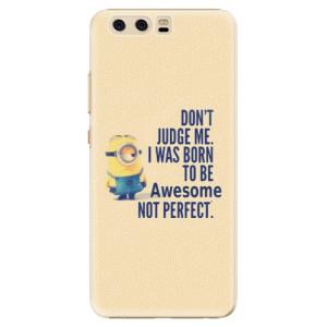 Plastové pouzdro iSaprio Be Awesome na mobil Huawei P10