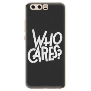 Plastové pouzdro iSaprio Who Cares na mobil Huawei P10