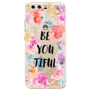 Plastové pouzdro iSaprio BeYouTiful na mobil Huawei P10
