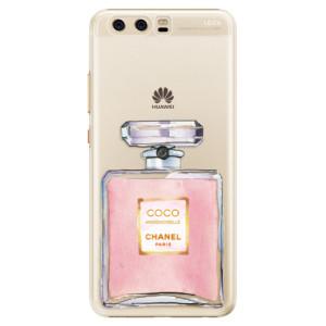 Plastové pouzdro iSaprio Chanel Rose na mobil Huawei P10