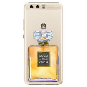Plastové pouzdro iSaprio Chanel Gold na mobil Huawei P10