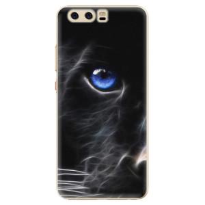 Plastové pouzdro iSaprio black Puma na mobil Huawei P10
