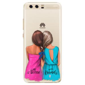 Plastové pouzdro iSaprio Best Friends na mobil Huawei P10
