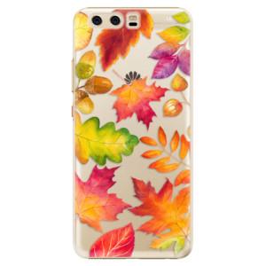 Plastové pouzdro iSaprio Autumn Leaves 01 na mobil Huawei P10