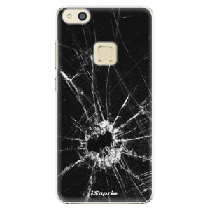 Plastové pouzdro iSaprio Broken Glass 10 na mobil Huawei P10 Lite