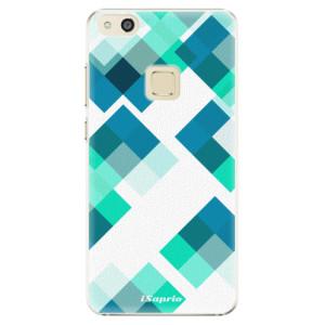 Plastové pouzdro iSaprio Abstract Squares 11 na mobil Huawei P10 Lite