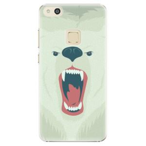 Plastové pouzdro iSaprio Angry Bear na mobil Huawei P10 Lite
