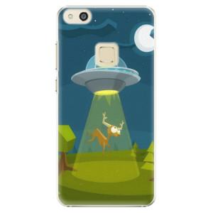 Plastové pouzdro iSaprio Alien 01 na mobil Huawei P10 Lite