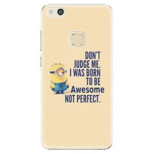 Plastové pouzdro iSaprio Be Awesome na mobil Huawei P10 Lite
