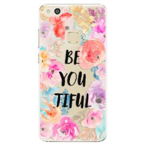 Plastové pouzdro iSaprio BeYouTiful na mobil Huawei P10 Lite