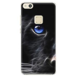 Plastové pouzdro iSaprio black Puma na mobil Huawei P10 Lite