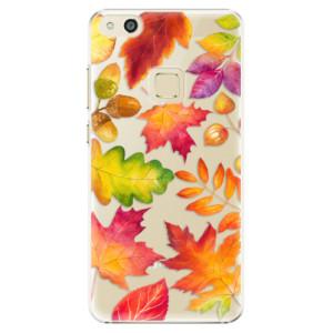 Plastové pouzdro iSaprio Autumn Leaves 01 na mobil Huawei P10 Lite