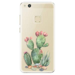 Plastové pouzdro iSaprio Kaktusy 01 na mobil Huawei P10 Lite