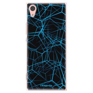 Plastové pouzdro iSaprio Abstract Outlines 12 na mobil Sony Xperia XA1