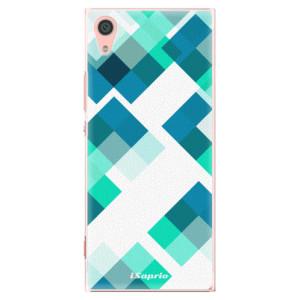 Plastové pouzdro iSaprio Abstract Squares 11 na mobil Sony Xperia XA1
