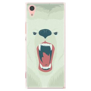 Plastové pouzdro iSaprio Angry Bear na mobil Sony Xperia XA1