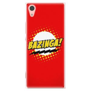 Plastové pouzdro iSaprio Bazinga 01 na mobil Sony Xperia XA1