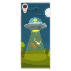 Plastové pouzdro iSaprio Alien 01 na mobil Sony Xperia XA1