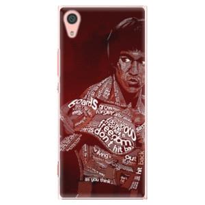 Plastové pouzdro iSaprio Bruce Lee na mobil Sony Xperia XA1