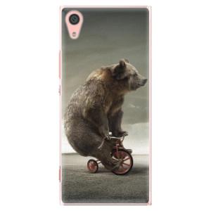Plastové pouzdro iSaprio Bear 01 na mobil Sony Xperia XA1