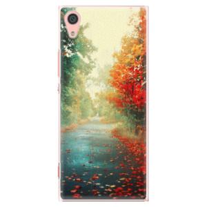 Plastové pouzdro iSaprio Autumn 03 na mobil Sony Xperia XA1