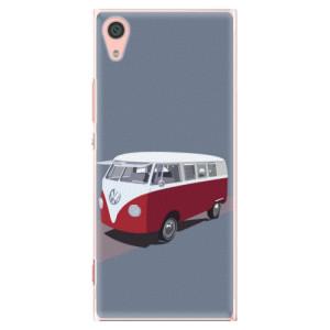 Plastové pouzdro iSaprio VW Bus na mobil Sony Xperia XA1