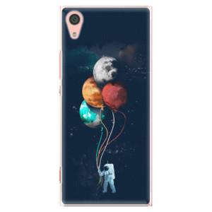 Plastové pouzdro iSaprio Balloons 02 na mobil Sony Xperia XA1