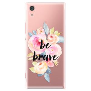 Plastové pouzdro iSaprio Be Brave na mobil Sony Xperia XA1