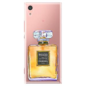 Plastové pouzdro iSaprio Chanel Gold na mobil Sony Xperia XA1