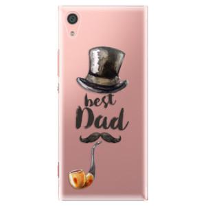 Plastové pouzdro iSaprio Best Dad na mobil Sony Xperia XA1