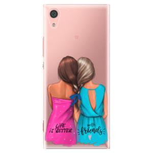 Plastové pouzdro iSaprio Best Friends na mobil Sony Xperia XA1