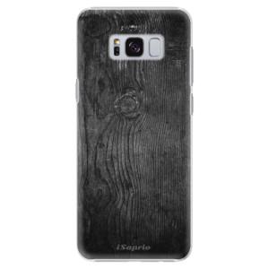 Plastové pouzdro iSaprio black Wood 13 na mobil Samsung Galaxy S8