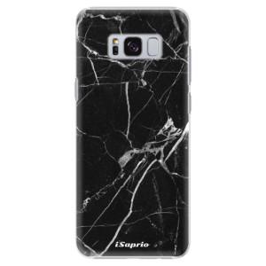 Plastové pouzdro iSaprio black Marble 18 na mobil Samsung Galaxy S8