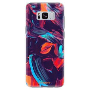 Plastové pouzdro iSaprio Barevný mramor 19 na mobil Samsung Galaxy S8