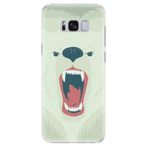 Plastové pouzdro iSaprio Angry Bear na mobil Samsung Galaxy S8