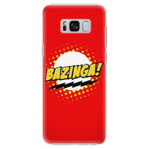 Plastové pouzdro iSaprio Bazinga 01 na mobil Samsung Galaxy S8