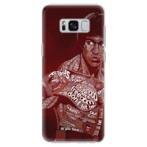 Plastové pouzdro iSaprio Bruce Lee na mobil Samsung Galaxy S8
