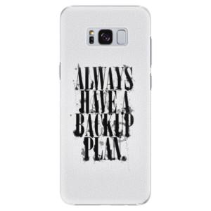 Plastové pouzdro iSaprio Backup Plan na mobil Samsung Galaxy S8