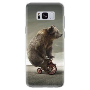 Plastové pouzdro iSaprio Bear 01 na mobil Samsung Galaxy S8