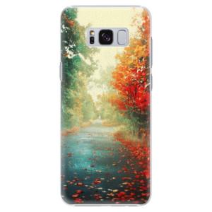 Plastové pouzdro iSaprio Autumn 03 na mobil Samsung Galaxy S8