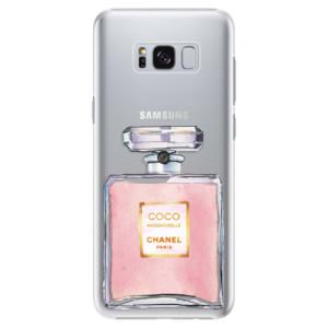 Plastové pouzdro iSaprio Chanel Rose na mobil Samsung Galaxy S8