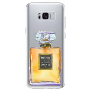 Plastové pouzdro iSaprio Chanel Gold na mobil Samsung Galaxy S8
