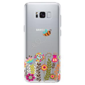 Plastové pouzdro iSaprio Bee 01 na mobil Samsung Galaxy S8