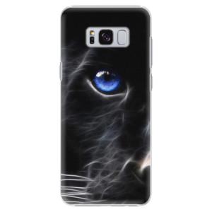 Plastové pouzdro iSaprio black Puma na mobil Samsung Galaxy S8