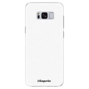 Plastové pouzdro iSaprio 4Pure bílé na mobil Samsung Galaxy S8