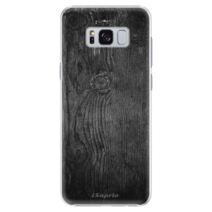 Plastové pouzdro iSaprio black Wood 13 na mobil Samsung Galaxy S8 Plus