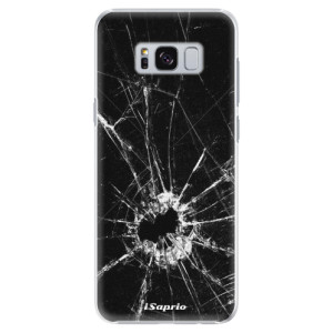 Plastové pouzdro iSaprio Broken Glass 10 na mobil Samsung Galaxy S8 Plus