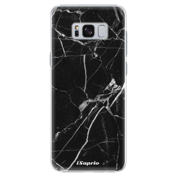 Plastové pouzdro iSaprio black Marble 18 na mobil Samsung Galaxy S8 Plus (Plastový obal, kryt, pouzdro iSaprio black Marble 18 na mobilní telefon Samsung Galaxy S8 Plus)