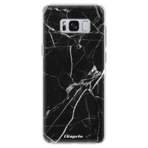 Plastové pouzdro iSaprio black Marble 18 na mobil Samsung Galaxy S8 Plus