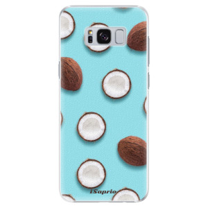 Plastové pouzdro iSaprio Kokos 01 na mobil Samsung Galaxy S8 Plus